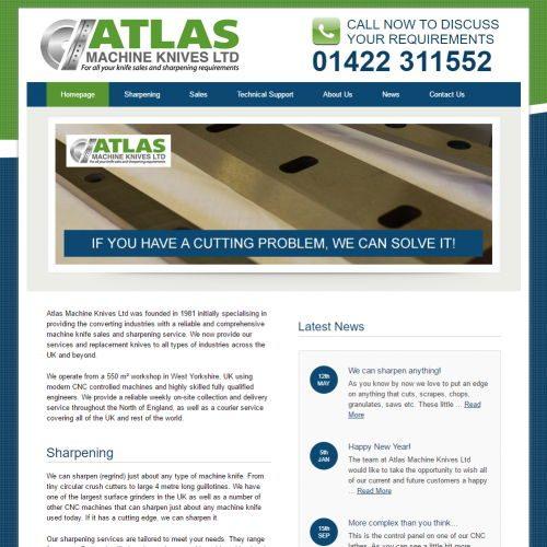 new atlas machine knives website